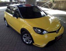 2017 MG3 1.5X sunroff สีเหลือง
