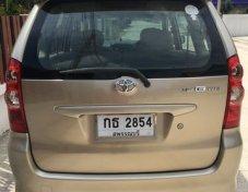 ขายรถ TOYOTA AVANZA ที่ สุพรรณบุรี