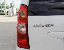 TOYOTA AVANZA 2011 รถเก๋ง 5 ประตู ราคาถูก