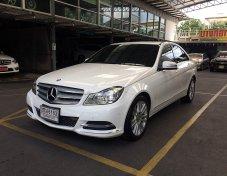 2013 Mercedes-Benz C220 CDI (W204) Elegance sedan โทร.0815843800