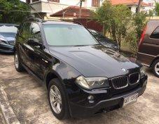 ขายรถ BMW X3 ปี 2008 ดีเซล XDrive 2.0D เกียร์ออโต้ สีดำ มือเดียว เจ้าของขายเอง สภาพดีมาก