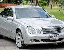 ฟรีดาวน์ Benz E200 Kom Elegance ปี 06 สวย ไม่เคยชน ตัวไฟกระดิกได้แล้ว