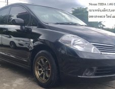 Nissan TIIDA 1.6G Sedan Latio 2008 สีดำ
