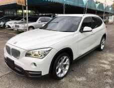 BMW X1 2.0 E84 รุ่น sDrive18i SUV AT สีขาว ปี 2014