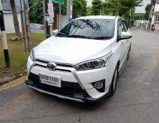 Toyota Yaris 1.2 G รุ่น TOP สุด กดปุ่มสตาท์ ชุดแต่งรอบคัน ไมล์น้อย 3 พันกิโล ปี 2017 แท้(ขายเงินสด)