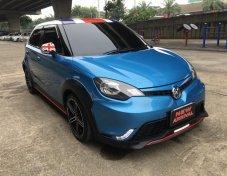 2017 MG3 1.5X sunrof สีฟ้า