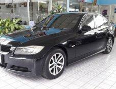"""""""BMW 318i E90 สีดำ เกียร์ออโต้ ปี 2008 ฟรีดาวน์"""""""