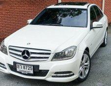 ขายรถ MERCEDES-BENZ C200 Avantgarde 2012 ราคาดี