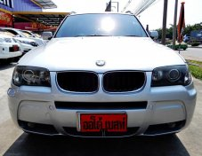 BMW X3 2.5i  ปี2007AT