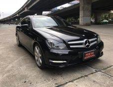 ฟรีดาวน์ จัดเต็ม 2012 Mercedes-Benz C180 1.8 AT Coupe