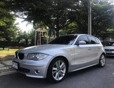 BMW Series1 120i โฉม E87 ปี2005 ออกศูนย์ BMW Thailand / เป็นรถนำเข้าทั้งคัน Made In Germany