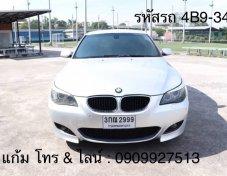 ฟรีดาวน์ฟรีประกัน BMW 520D E60 2.0 AT ปี 2009 (รหัส 4B9-34)