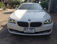 2012 BMW 523i F10 สีขาว เบาะน้ำตาล ใหม่มาก confirm