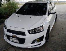 Chevrolet sonic 2012 1400cc LTZ ต้วท้อบ รถบ้านมือสอง เจ้าของขายเอง