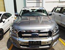 ใช้เงินออกรถ 24000 รถทดลองขับ FORD RANGER XLT 2.2L DBL MT สีบรอนซ์เงิน