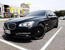 ขาย BMW 740 Li หายากมากๆ TOP FULL OPTION ปี 2014 ออกห้างเกือบ 10 ล้านบาท สีสวยไม่มีรอย เพราะแร็พฟิล์มใสมาทั้งคัน