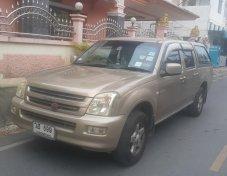 ขายรถ ISUZU DMAX 3.0 CAP4 ปี 2003 เกียร์ AUTO ABS AIRBAG สีบอร์นทอง รถบ้านแท้เจ้าของขายเองครับ