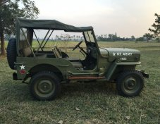 1985 Jeep Willys cabriolet