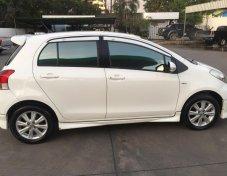 Yaris  2010 1.5E Airbags ABS สีขาวเกียร์ออโต้