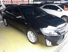 TOYOTA CRAMRY HYBRID 2.5G.NAVI ปี 2012 AT สีดำ รถสวยสภาพดี