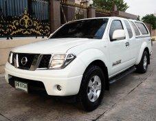 #NISSAN NAVARA CAB 2.5 SE CALIBER ปี 2010 เกียร์MANUAL 6 SPEED สีขาวมุก