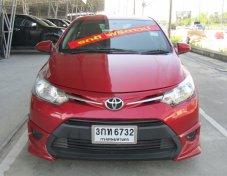 Toyota Soluna New Vios 1.5 J ปี 2014 สีแดง รถสวยสภาพป้ายแดง