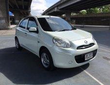 2012 Nissan MARCH 1.2EL AT hatchback ซื้อรถแถมโดนัท ประหยัดจริง