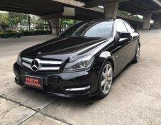 2012 Mercedes-Benz C180 AMG 1.8 AT Coupe สีดำ สปอร์ต หรู ดุดัน
