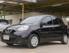 2016 NISSAN MARCH รับประกันใช้ดี