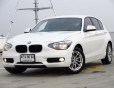 BMW 116i F20 1.6TURBO ปี2015AT รถบ้านสภาพป้ายแดง ใช้งานน้อยไมล์ 3X,XXX กม.