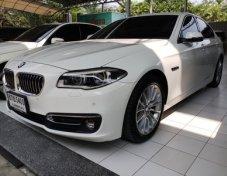 BMW 528 i LUXURY 2.0 FULL OPTION ไมล์ 42750 BSI ถึง เดือน 11-2019