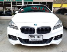 BMW SERIES2 218i 1.5 Active-Tourer RHD ปี2017 สีขาว ออโต้