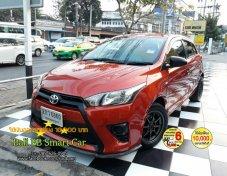 2013 Toyota YARIS J hatchback รถฟรีดาวน์พร้อใช้งาน