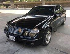 2004 Mercedes-Benz  E200 Elegance โฉมW21 สีดำ