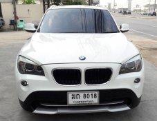2012 Bmw X1 sDrive20d suv  Top สุด สีขาว ดีเซล