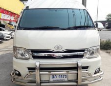 2012 Toyota COMMUTER STD van  รถบ้าน มือเดียว สภาพสวยพร้อมใช้ เลขไมล์ 7x,xxx ราคาเพียง 919,000 บาท