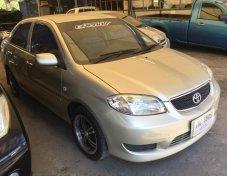 2005 TOYOTA SOLUNA VIOS 1.5 E ( Airbag , ABS ) โฉม VIOS ปี2003-2006   Sedan 4 Drs.