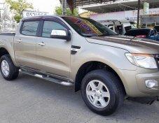 ***ฟรีดาวน์*** Ford Ranger Double Cab 2.2 Hi-Rander XLT –MT ปี 2012 สีน้ำตาล