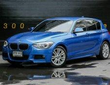ขาย BMW 116i Msport Package สีน้ำเงิน ปี 2013