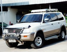 MITSUBISHI G WAGON 2.8 ออโต้+4WD 2002 ตัวTOP สุด