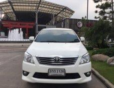 Toyota Innova 2.0 G ปี2014 เบนซิน (ไม่เคยติดแก๊ซ)