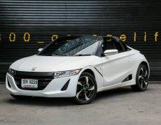 ขาย HONDA S660 Roadster ปี2016 สีขาว เครื่องยนต์ 660cc Turbo เกียร์ AUTO