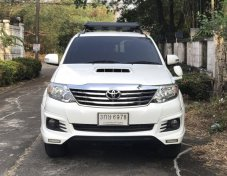 Toyota Fortuner 2.5V Navi ดีเซล ปี 2015 แต่ง TRD