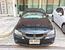 BMW 320i SE 2007 Sedan สีดำ เกียร์ออโต้