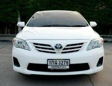 Toyota Altis1.6E Cng เบนซิน ปี2012 รถสวยเดิมๆ มือเดียว ฟรีดาวน์ครับผม