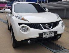 2014 Nissan Juke V truck  NAVI Topสุด ปี 2014 สีขาว รถบ้าน มือเดียวออกศูนย์ สวยกริ๊ป เลขไมล์ 6x,xxx ราคาเพียง 529,000 บาท