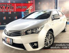 TOYOTA ALTIS 1.8 [G] AT ปี 15 TOP + NGV