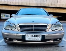 2004 MERCEDES BENZ C200 Kompressor Elegance 2.0 Sedan  AUTO