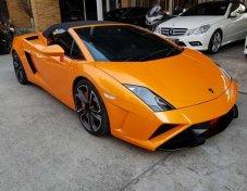 Lamborghini Gallado LP560-4 spyder 50anniversary ปี2013 สีส้ม