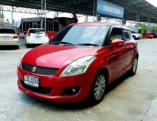 #โปรโมชั่น #ฟรีค่าจัด #ฟรีค่าโอน #ฟรีค่าดำเนินการ #ทุกคัน Suzuki Swift  สีแดง  Top ออโต้ ปี 2012